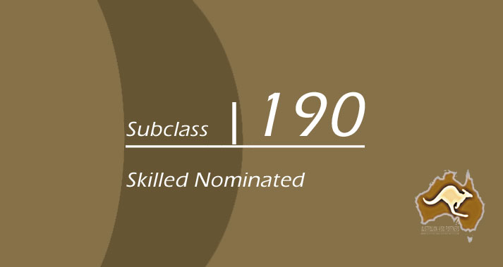 190-Subclass-Skilled-Nominated