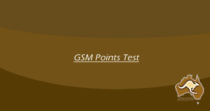 GSM Points Test